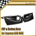 New Car Styling Carbon Fiber CS Style Side Ducts Fit For 2008-2010 Impreza GRB Hatchback OEM Front Bumper