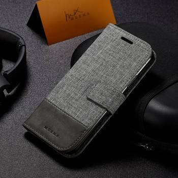 3d7ebfbf005 Funda de teléfono para iPhone XS Max XR X Funda de cuero estilo británico  de negocios para iPhone 5 SE 6 6 6 S 7 7 Plus 7 7 caso Capa
