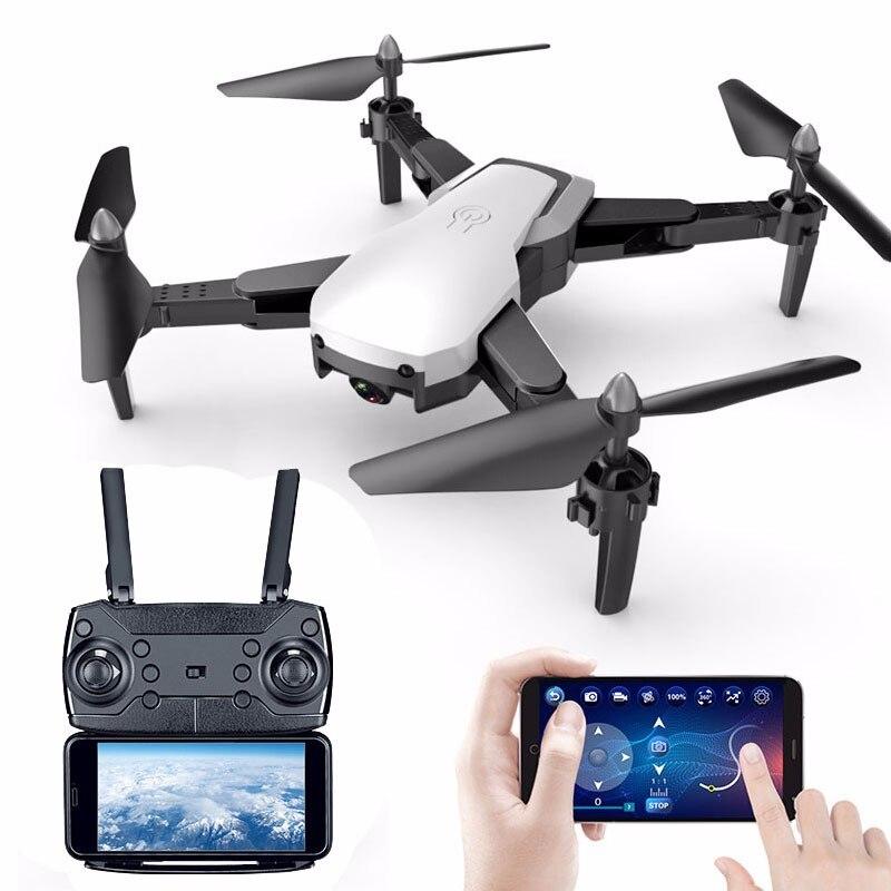 Drone Avec HD 1080 P Wifi Caméra Quadrocopter Planant FPV Quadricoptères 5MP Pliant hélicoptère rc sac de rangement jouet pour garçon - 2