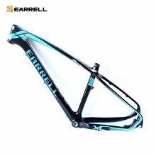 Карбоновая рама для горного велосипеда EARRELL, аксессуары для горного велосипеда brompton, mtb, рама с фиксированной передачей, велосипедная Рама
