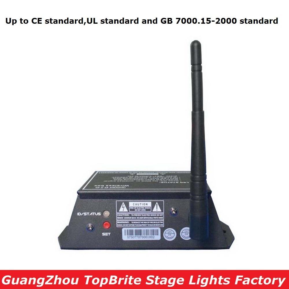 2.4G sans fil DMX contrôleur émetteur récepteur LED affichage DMX contrôleur répéteur DJ lumières LED effet de scène lumières Console