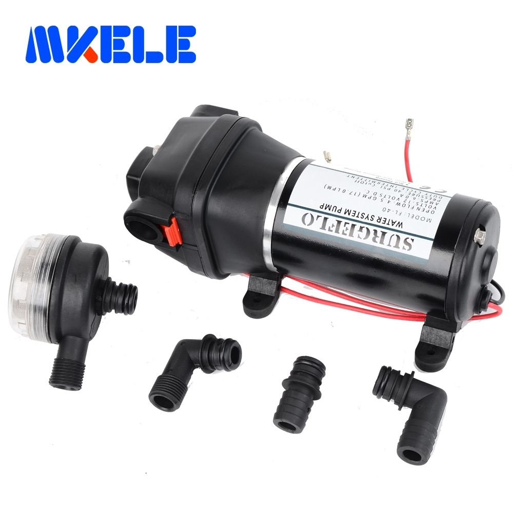 FL-40 FL-44 12V/24V DC mini water pump Submersible pumps Low Pressure Electric Diaphragm Pump 25m lift fl 40 fl 44 12v 24v dc mini submersible low electric diaphragm pump 25m lift high pressure water pumps self priming