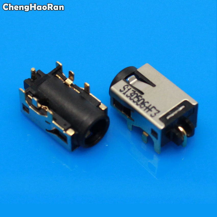 ChengHaoRan 1-10pcs DC Power Jack Connector For Laptop Asus Zenbook UX31A UX32A UX32V UX32VD X200 X200LA Series Charging Socket