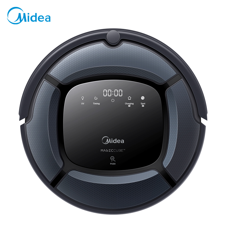 Midea MR04 Robot Vacuum Cleaner by remote control, with Multi-mode, UV Light and mopping function, anti-collision and anti-fall цена 2017