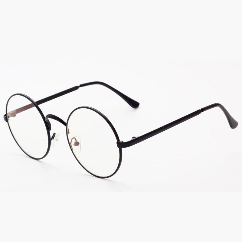 3d2f73d340a9e Optical Eyeglasses Frame Women Men Vintage Round Computer Eye Glasses  Spectacle Frame For Women s Male Clear Lens Female YQ188