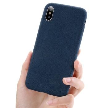 iPhone X Case Blue Ultra Clear Soft TPU Case Offer Non-Slip Grip