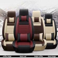 Kalaisike Универсальный кожаный Авто Чехлы для Ford все модели kuga fiesta mondeo fusion фокус ranger Everest Taurus Ecosport