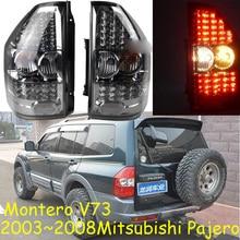1 مجموعة سيارة التصميم ل باجيرو المصابيح الخلفية مونتيرو V73 LED 2003 ~ 2008 سيارة اكسسوارات باجيرو مصباح الخلفية ضوء DRL + الفرامل + بارك + إشارة