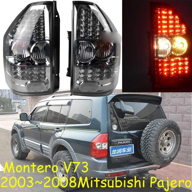 1set Car Styling for pajero taillights montero V73 LED 2003~2008 car accessories pajero Lamp rear light DRL+Brake+Park+Signal