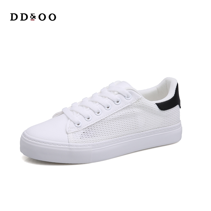 2017 summer new fashion women shoes casual flats air mesh simple classic women casual white shoes sneakers free shipping 2017summer autumn new fashion women shoes casual flats solid breathable simple women casual white shoes sneakers