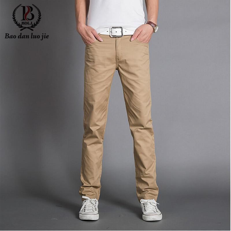 Popular Khaki Pants Fashion-Buy Cheap Khaki Pants Fashion lots ...