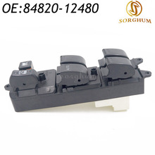84820-12480 84820AA070 84820-AA070 Electric Power Window Master Switch For Toyota RAV4 Camry Sienna front rh electric power window master control switch for toyota corolla auris yaris 84820 12500