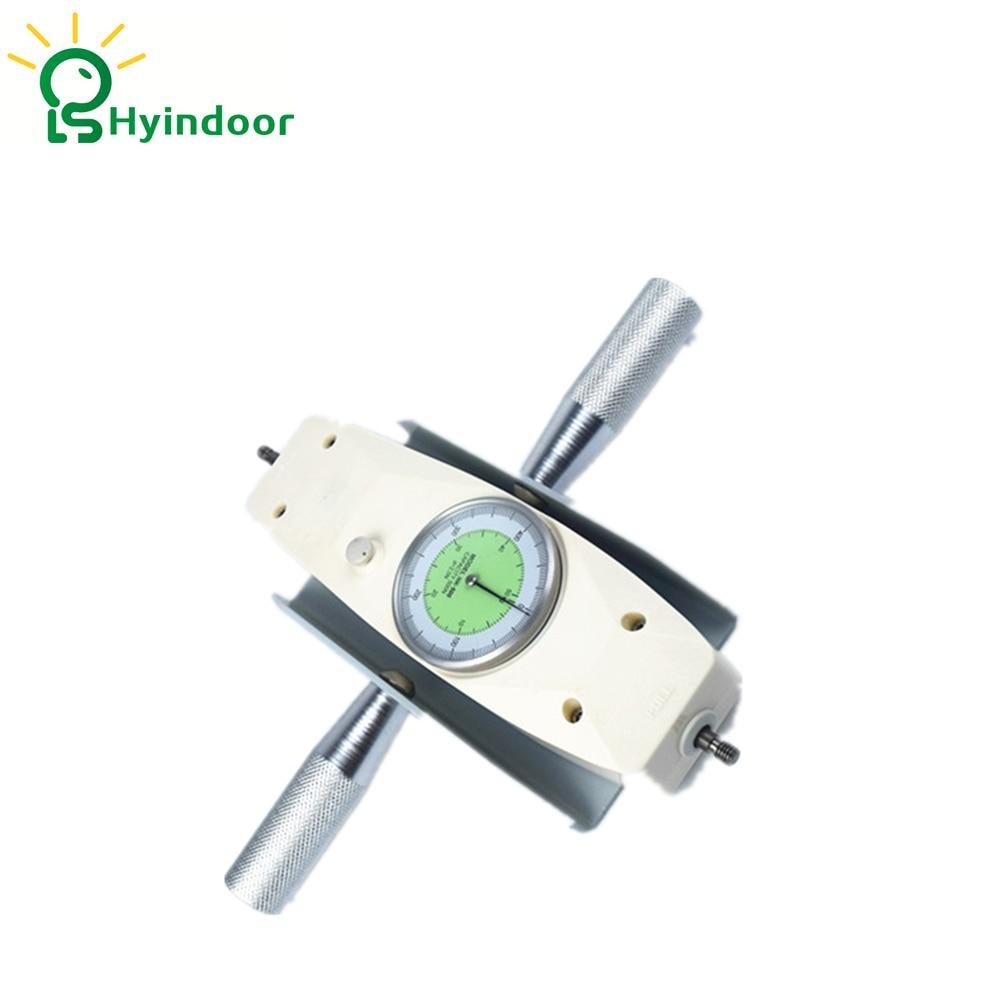 100N(10kg) NK series Analog Force Gauge Pointer Dynamometer Measuring Instruments Thrust Torque Tester 200n 20kg nk series analog force gauge pointer dynamometer measuring instruments thrust torque tester