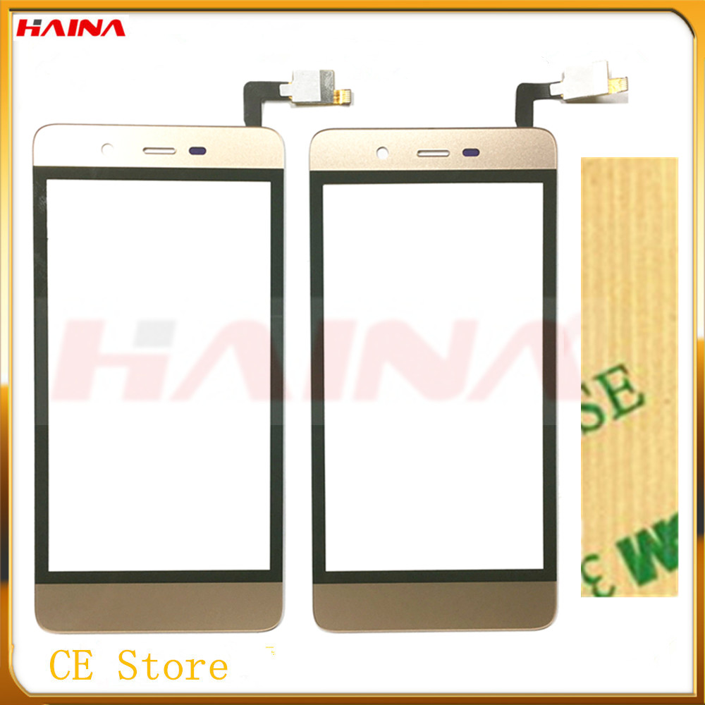 Mobile Phone Touch screen For Micromax Q4101 Sensor Touchscreen Digitizer Front Glass Panel Free 3m tape with gold color