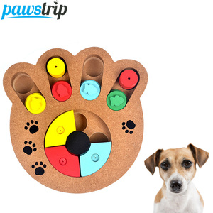 Interactive Wooden Dog Toys Fo