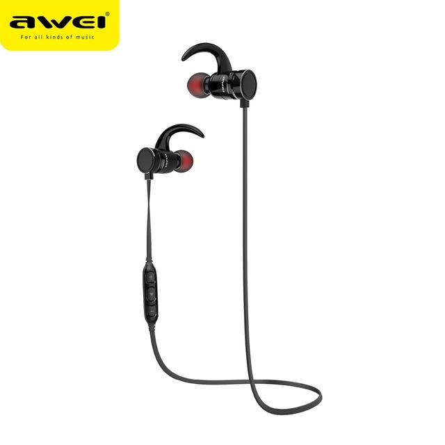 0c7efcd88c2 AWEI AK4 Magnetic Switch Wireless Earphone Sports Waterproof Bluetooth  Headset with Microphone Super Bass Stereo Earphones new