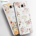 """Plástico rígido 3D alívio pintura estéreo sentindo capa Case para Samsung Galaxy A9 A9000 A900F 6.0 """" Phone Bag"""
