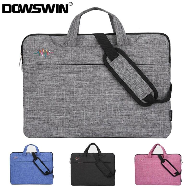 Laptop Bag For Macbook Air 13 Case Laptop Sleeve 15.6 Notebook Bag 14 15 Inch Shoulder Bag For Dell HP Lenovo Asus Acer