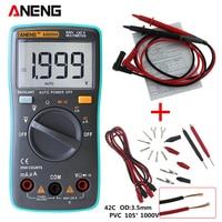 ANENG AN8004 Digital Multimeter 2000 Counts Backlight AC DC Ammeter Voltmeter Ohm Portable Meter