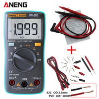 ANENG AN8004 Digital Multimeter 2000 Counts Backlight AC DC Ammeter Voltmeter Ohm Portable Meter