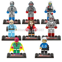 D852 Super Hero Avengers Age of Ultron Minifigures 8pcs/lot Building Blocks Sets Bricks Toys For Children