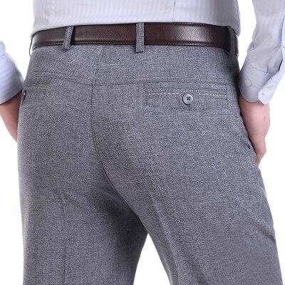 De Lujo de los hombres Pantalones de Traje de Pantalones de Vestir Para  Hombre Slim Fit Social Formal Blazer Pantalones 2016 Nueva Llegada Traje  Homme ... 2976df5fbcd7