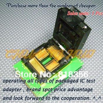 BM11172 Programmer Adapter PM-RTC005-366A IC51-1004-814-1 TQFP100 LQFP100 QFP100 Adapter/IC SOCKET/IC Test Socket 100% new ic51 0162 sop16 ic test socket programmer adapter burn in socket ic51 0162 271