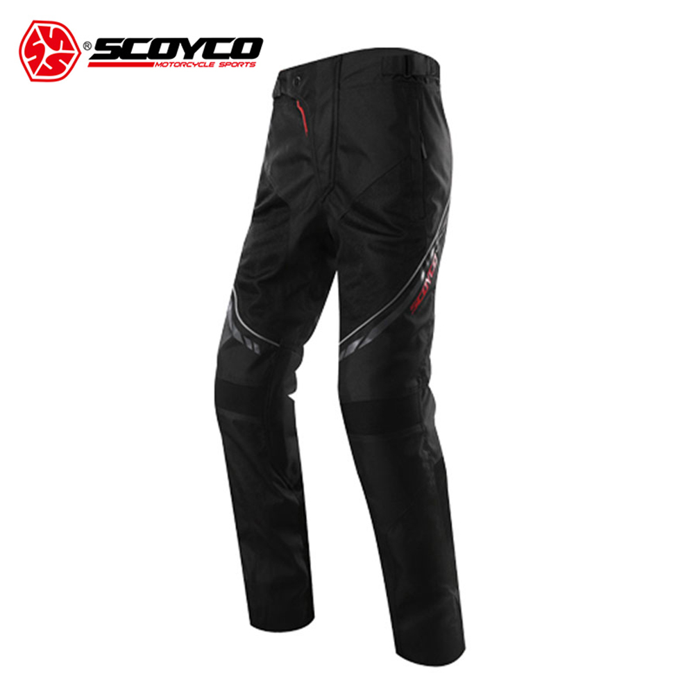 SCOYCO Motorcycle Pants Motocross Pants Enduro Riding Trousers Men's Off-Road Racing Pants Casual Pants With CE Protectors scoyco mens motorcycle pants racing trousers winter summer p028