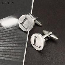 Мужские Запонки leton запонки «Алфавит» с серебряным покрытием