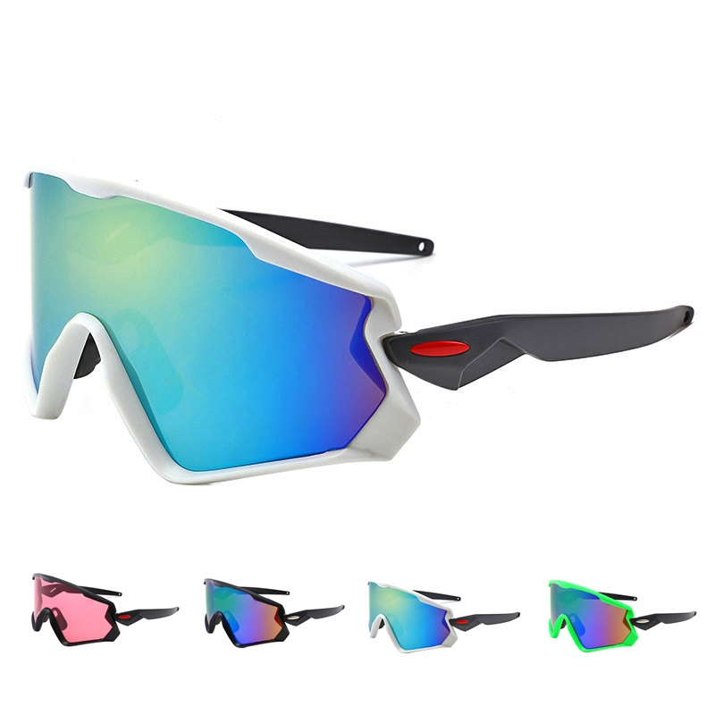 0abe6df83d2 Cycling sunglass Eyewear UV400 MTB Bike Bicycle Windproof Goggles Outdoor Sport  Glasses Large frame Racing Eyewear