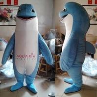 Handmade adult dolphin mascot costume