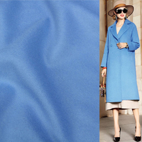 blue color 100% pure wool fabric 600g/meter one side wool fabric,WF192