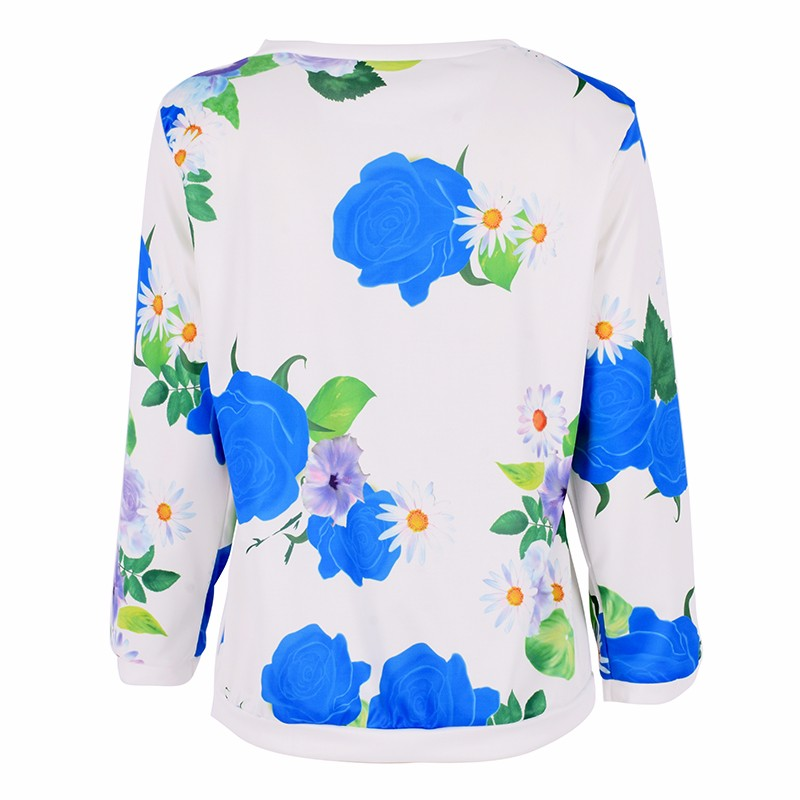 HTB1m5lrMXXXXXbEXpXXq6xXFXXXR - Autumn Women Girl Long Sleeve Floral Print T Shirts