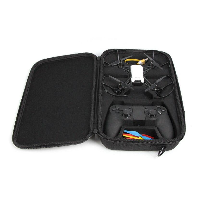 Livraison Gratuite Noir Oxford sac de rangement Corps/Batterie/télécommande de Transport sacs à bandoulière Pour DJI Tello Drone 80518