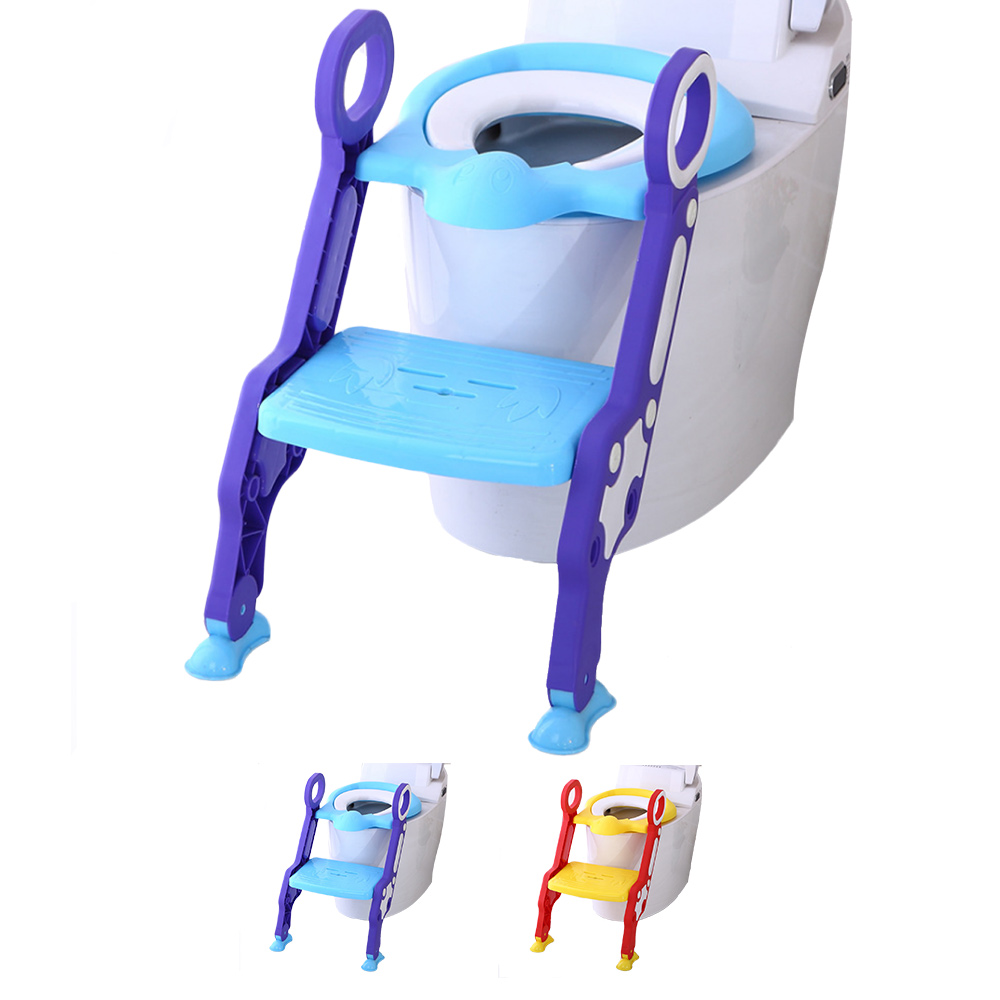 Baby Toddler Potty Toilet Trainer Safety Seat Chair Step with ...