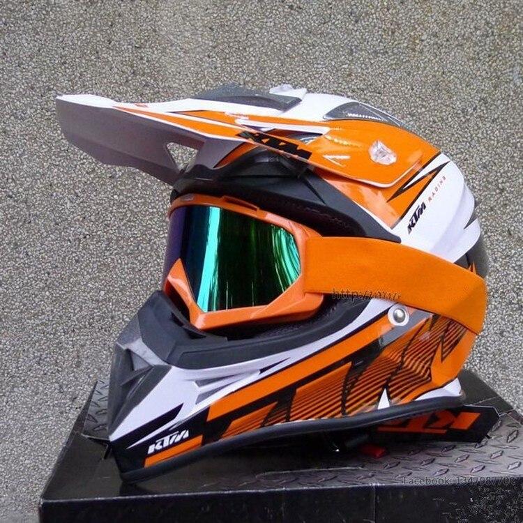 new arrival helmet ktm motocross career men outside the road motorcycle helmet helmet dot approved