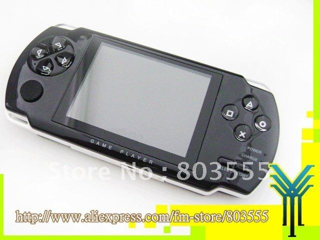 Wholesale! Video Game player MP4 MP5 player with music & ebook & camera & photo & TV out