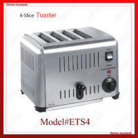 ETS4/ETS6 Electrical Commercial Bun Sandwich Bread Toaster Oven Machine For kitchen appliance