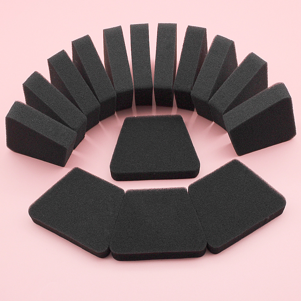 15pcs/lot Air Filter Foam For Poulan 1900 1950 1975 2025 2050 2055 2075 2150 2155 2175 2250 2350 2375 2450 2550 Chainsaw Part