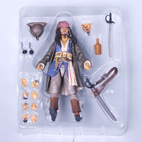 Pirates of The Caribbean Dead Men Tell No Tales/Salazar's Revenge Captain Jack Sparrow Can Change To Dress Up Best Gift for Kids