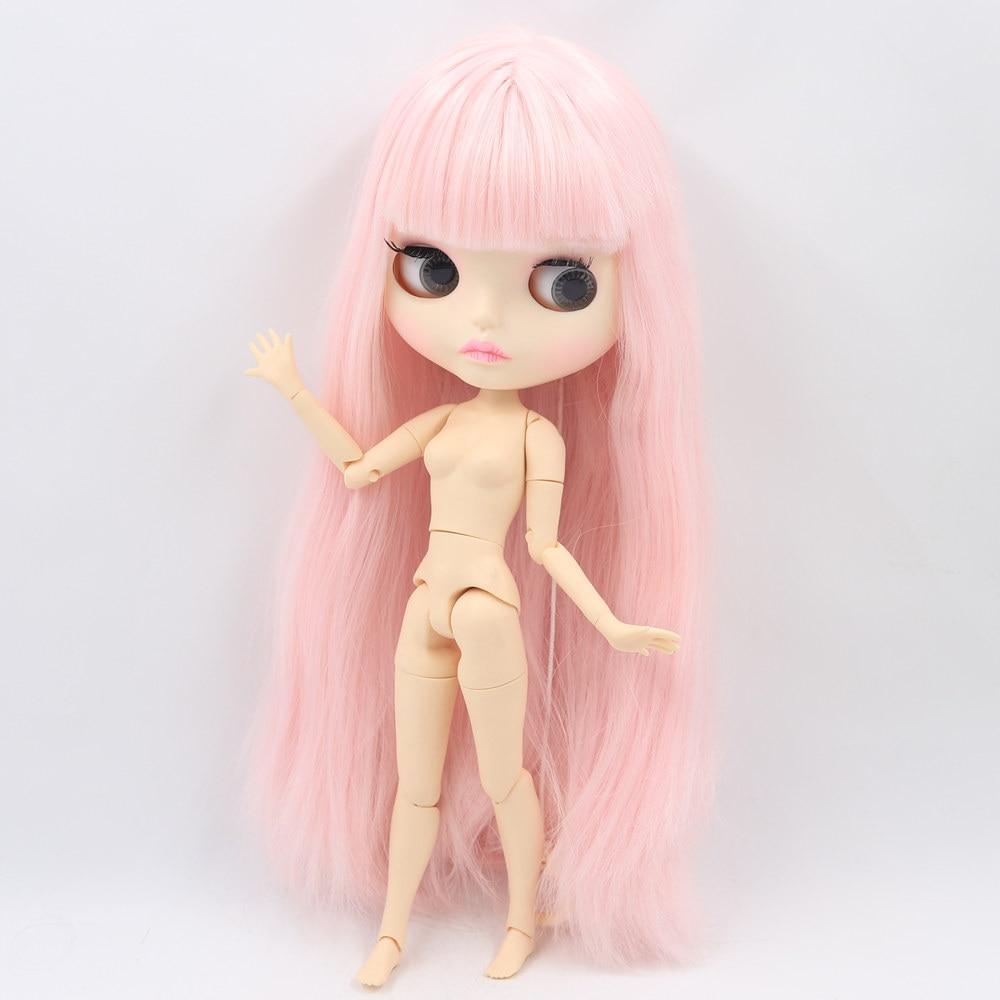 Icy 누드 blyth 인형 시리즈 no.280bl2352 조인트 바디 핑크 머리 새겨진 입술 매트 얼굴-에서인형부터 완구 & 취미 의  그룹 3