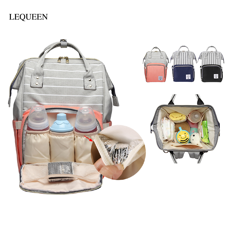 Multi-function Mummy Diaper Bag Maternity Nappy Bags Stroller Large Capacity Travel Backpack Nursing Baby Care Wetbag