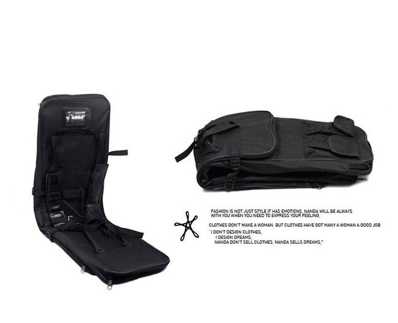 Sac de pêche multifonctionnel sac de pistolet tactique de chasse en plein air sac de transport carré sac de Protection pour pistolet sac à dos de Camping - 4