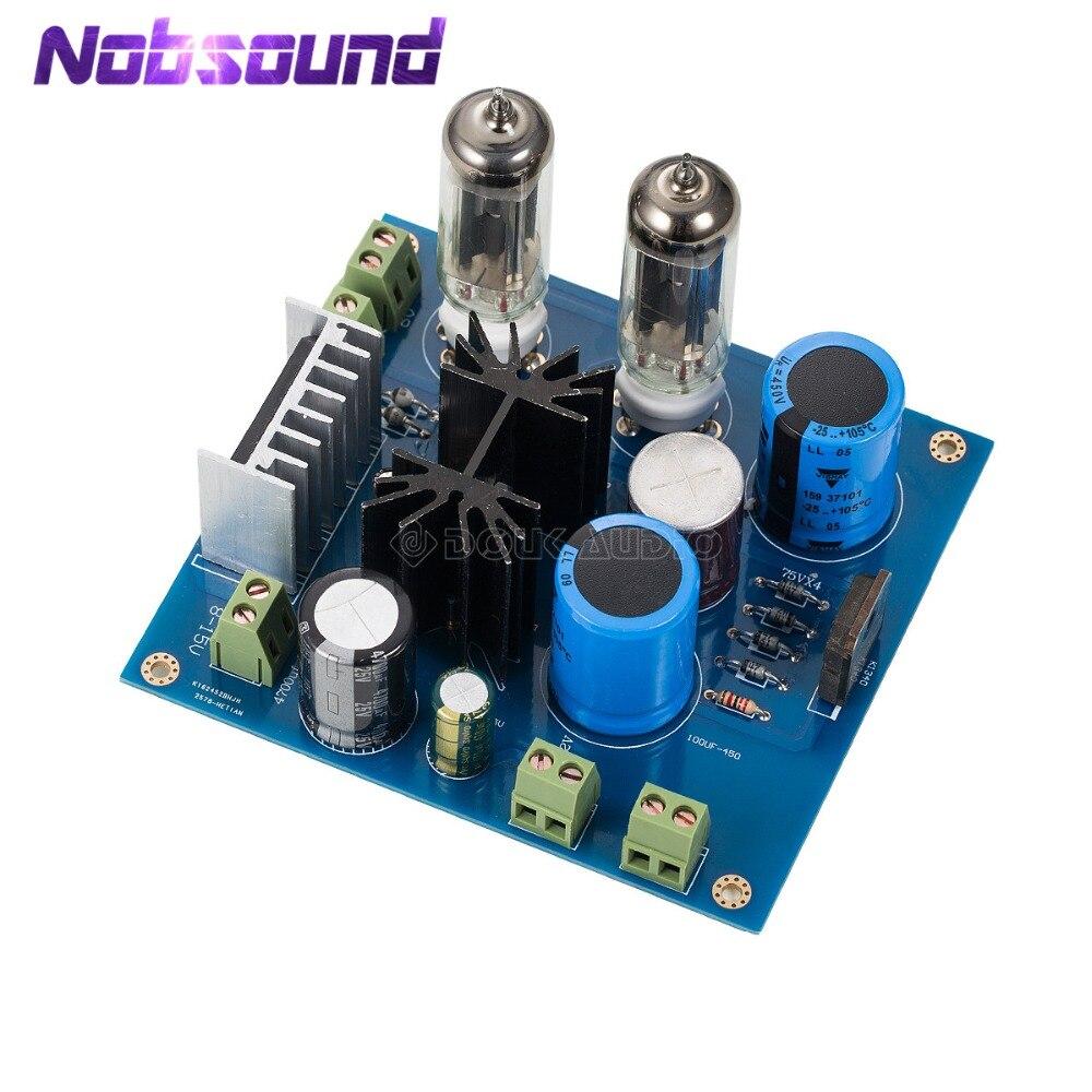 Nobsound Haute Tension Filament Filtre Carte D'alimentation Pour Tube Préampli/Puissance Amplificateur 6Z4 Tube Rectification