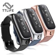 TTLIFE Новый Bluetooth4.0 активности Смарт Группа Браслет Pulsera inteligente браслет для iOS и Android лучше, чем TW64
