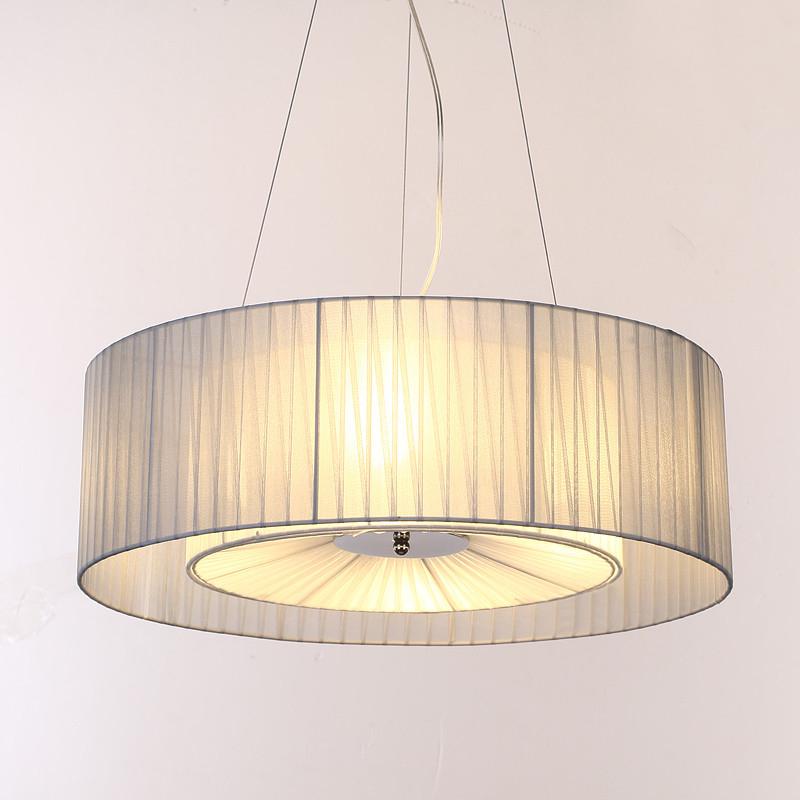 European American Moderne Stoff Hngeleuchte Lampe Textil Kronleuchter Esszimmer Wohnzimmer Bettzimmer Schlafzimmer Licht