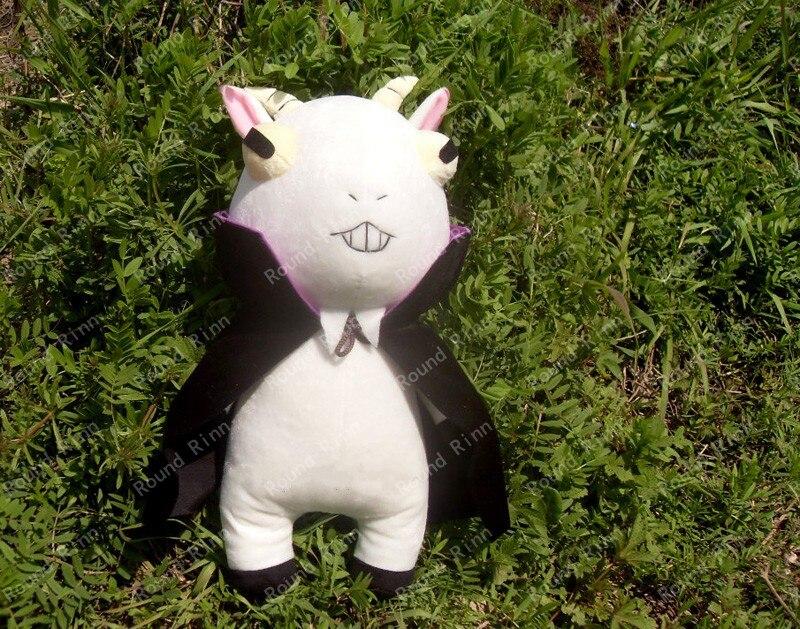 Cuticules détective Inaba Don Valentino Cosplay chèvre mascotte Anime 45 cm peluche et peluche dessin animé poupée