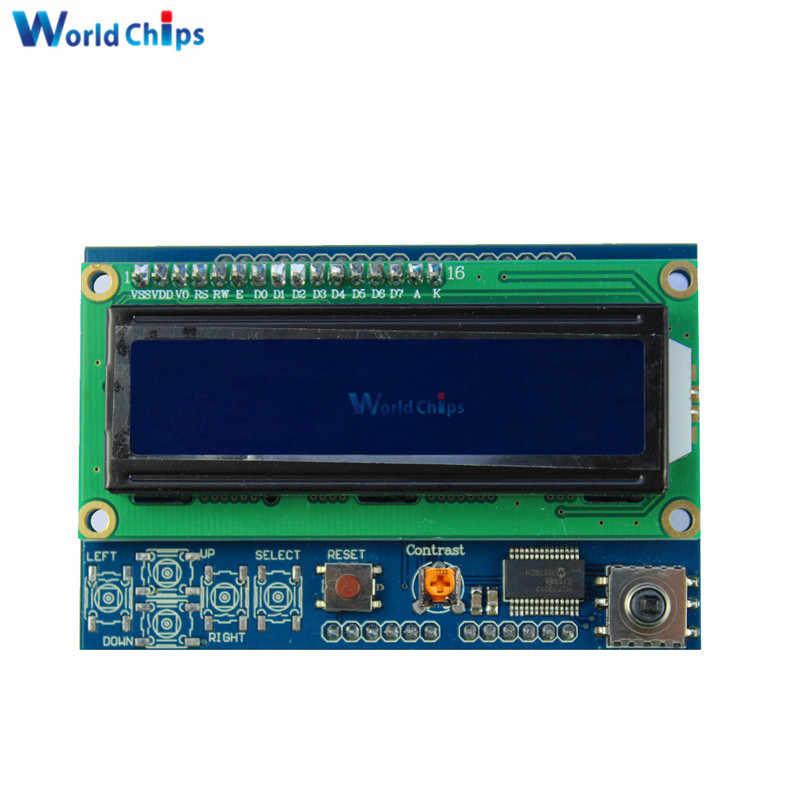 Modulo display LCD 16x2 1602 con retroilluminazione BLU 1pz Arduino shield