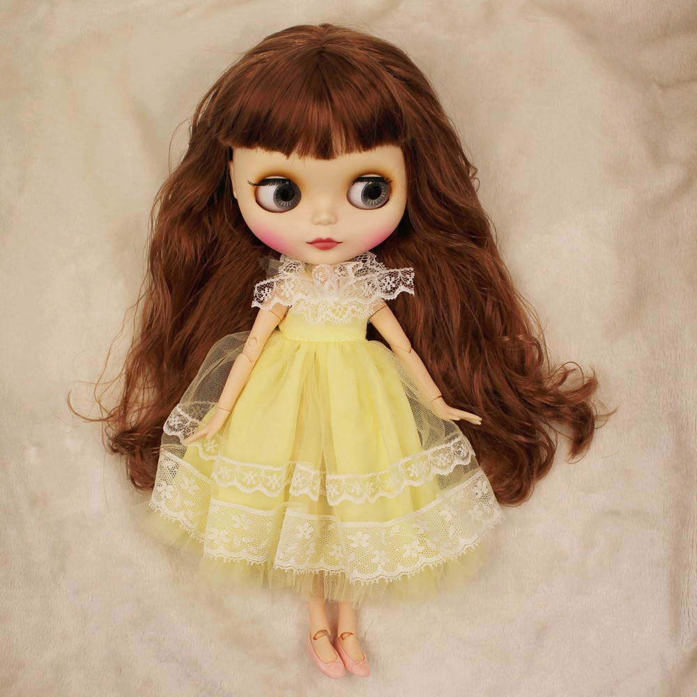 Premium Custom Neo Blythe Doll with Full Outfit 27 Combo Options 3