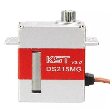 Nuevo estilo KST DS215MG V3.0 Acero inoxidable engranaje Servo Digital para 450 380 480 500 RC helicóptero